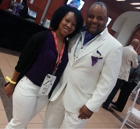 Entertainment Blogger: with Journalist Roland Martin
