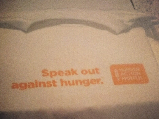 IMG 20120904 200334 550x550 September Is Hunger Action Month: Show Support by Getting Involved
