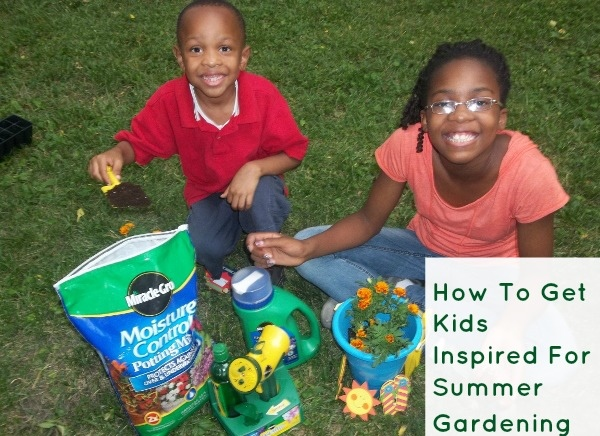 How To Get Kids Inspired For Summer Gardening #MiracleGroProject #SummerGardening