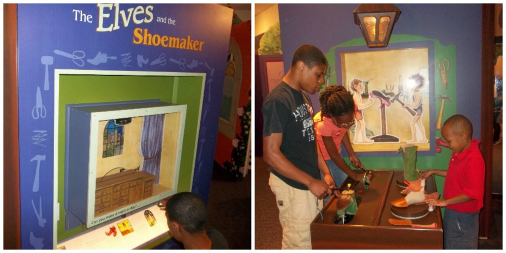 .Once Upon a Time...Exploring the World of Fairy Tales exhibit review the magic house st. louis