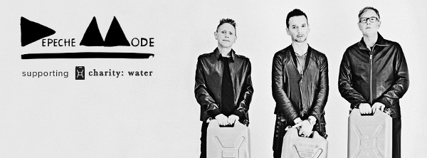 .Depeche Mode Teams With Hublot #DepecheMode #charityWater
