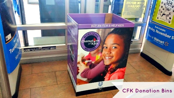 champions-for-kids-simple-giving-donation-bins-at-walmart-melisasource #simplegiving #shop #cfk