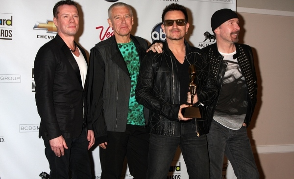 U2 Offering Free Song Download During Game Day To Benefit Charity #U2Invisible