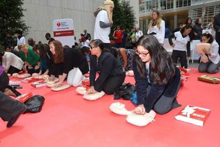 National CPR Awareness Week hands only cpr
