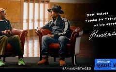 Pharrell Talks Inspiration And Fame with Spike Lee, Plus Watch Exclusive Live Stream Concert! [VIDEO] #AmexUNSTAGED
