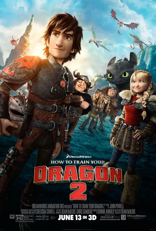 Father's Day Family Fun: How to Train Your Dragon 2 New In Theaters June 13