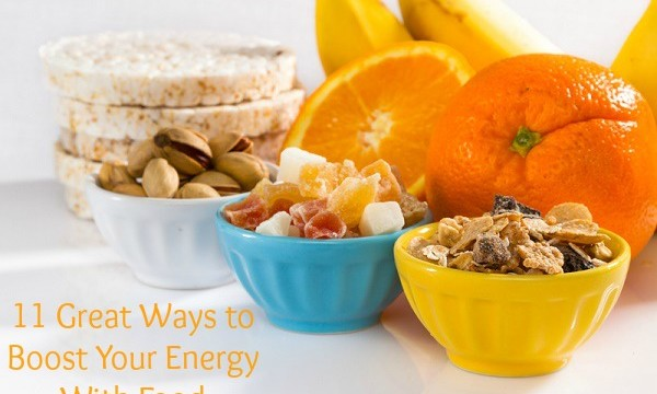 Ways to Boost Your Energy With Food