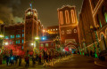 Saint Louis Anheuser-Busch holiday lights