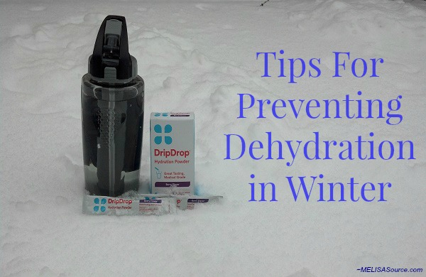 Preventing dehydration in winter