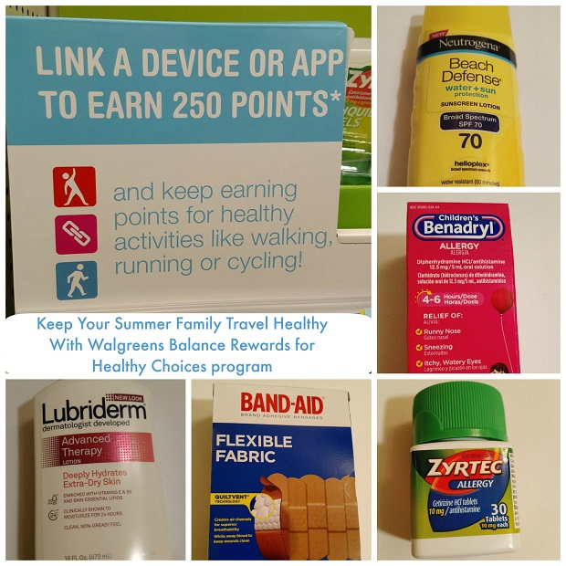 Summer Family Travel J&J healthy essentials from Walgreens