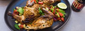 grilled chicken with watermelon salsa Reinventing Summer Food Classics