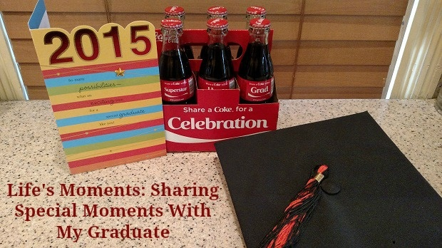 special moments with my graduate #shareacoke