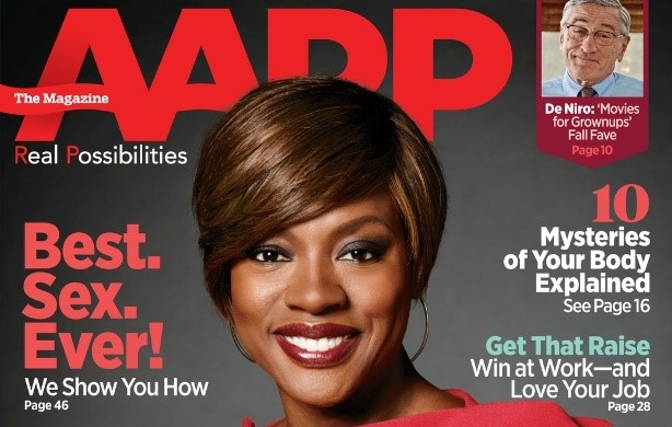 Viola Davis Talks Love, Life, and Learning in AARP Magazine's August/September Issue