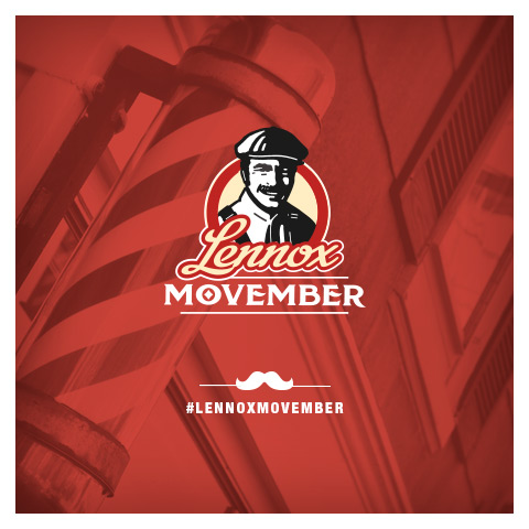 Lennox is Supporting Movember