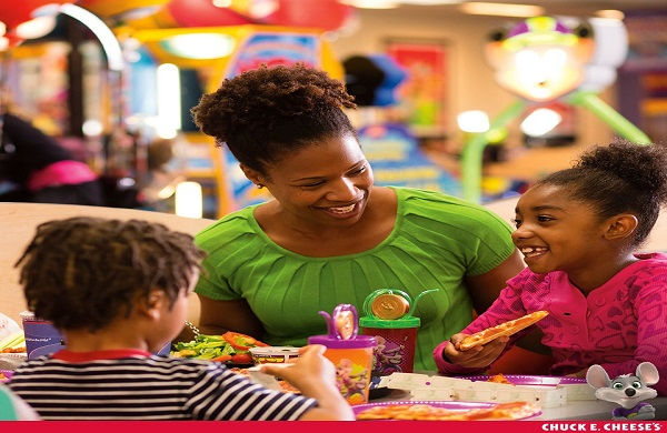 Parents: Beat the Winter Break Blues with a Visit to Chuck E. Cheese's