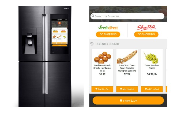 Want to Order Groceries Right From Your Refrigerator? There's an App for That