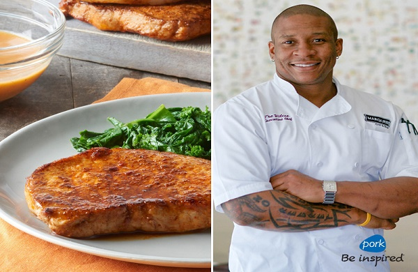 Interview: Chef Tre Wilcox from Bravo's Top Chef Shares Healthy Pork Recipes Families Will Love