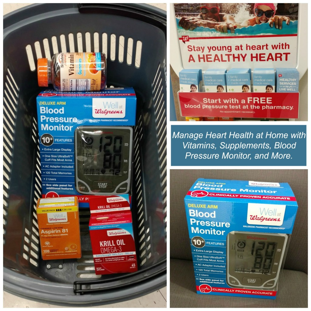 Manage Your #HeartHealthGoals with a Free Blood Pressure Testing at Walgreens