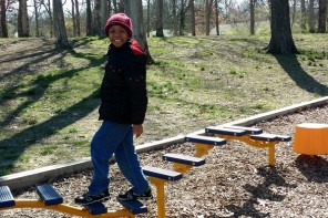 Encourage Kids Physical Activity with Springtime Play