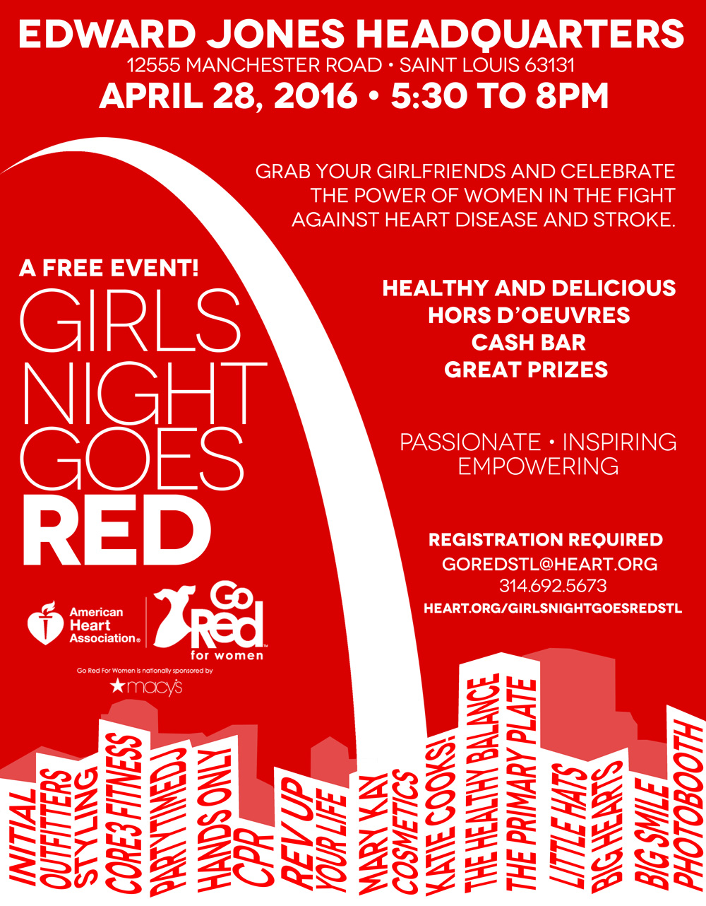 Girls Night Goes Red in St. Louis