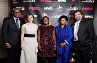 Forest Whitaker Joins Emma Watson, UN Women for the Launch of HeForShe Arts Week