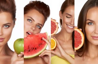 Healthy Hair and Skin foods