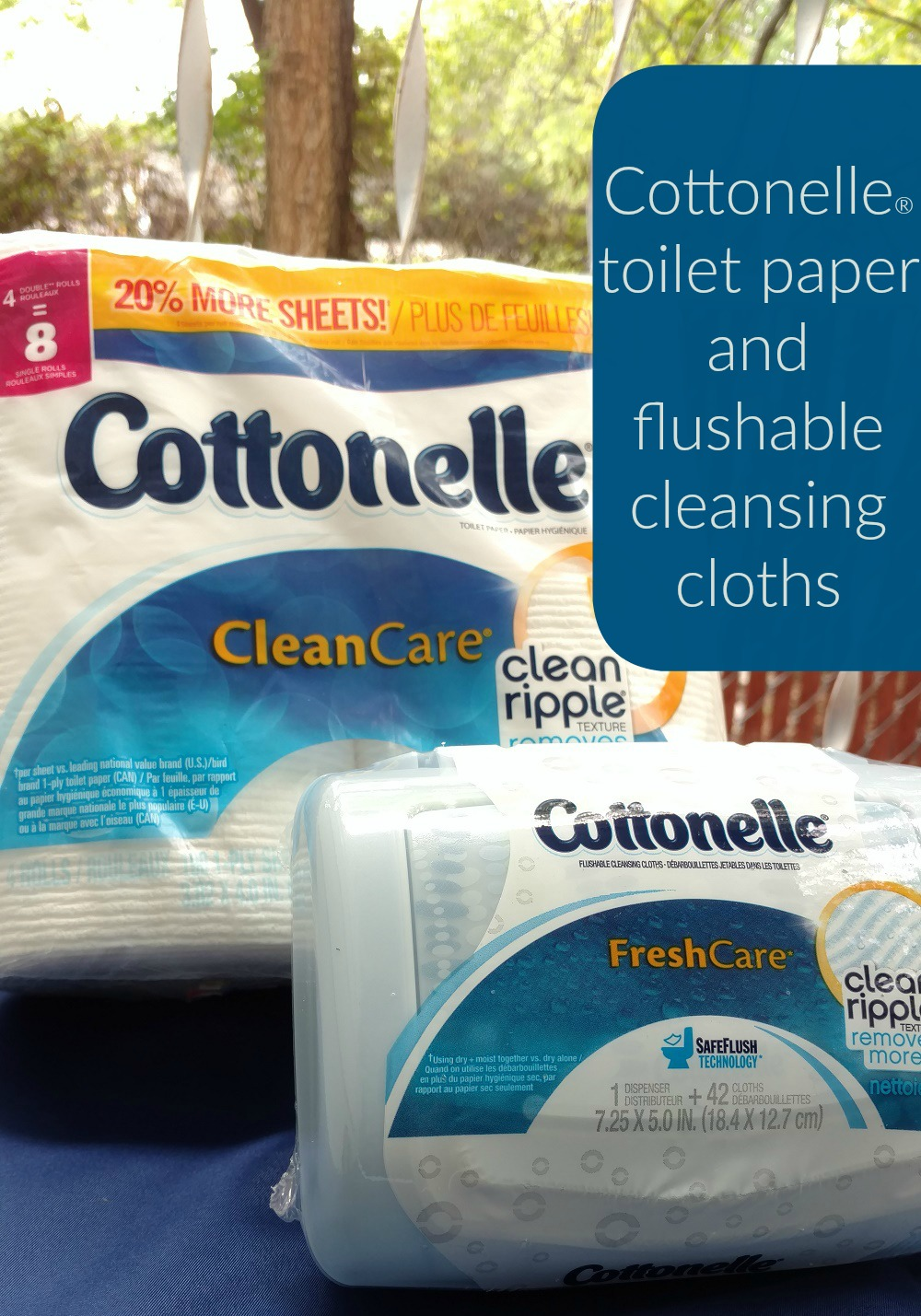 Cottonelle® toilet paper and flushable cleansing cloths Keeping Personal Comfort and Confidence During Summer Physical Activity
