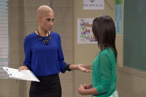Sneek Peak: R&B Singer Goapele Guest Stars On An All-New Episode Of Mann & Wife