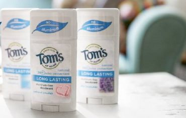 Why I Switched to Tom's of Maine Natural Deodorant