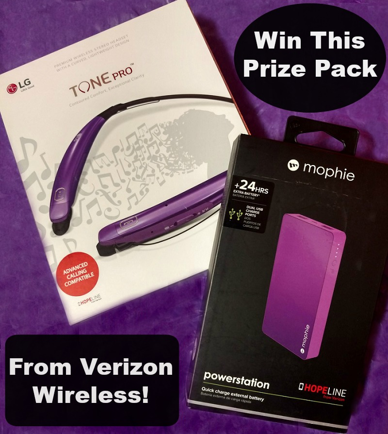 HopeLine from Verizon domestic violence awareness