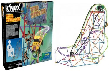 Give Excitement This Holiday with K'NEX Wild Whiplash Roller Coaster