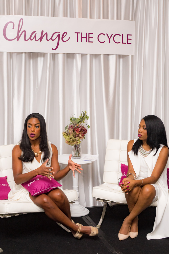 Recap: Change the Cycle and Dare to Wear White at Blogalicious Weekend 2016