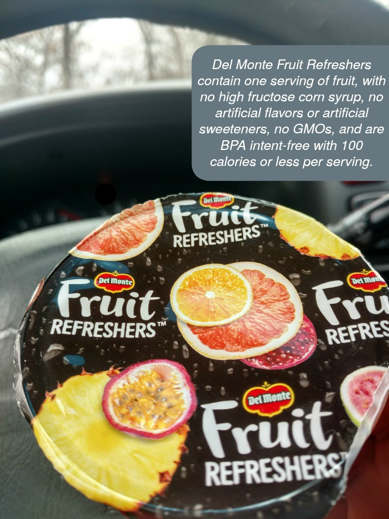 Better Snacking Habits for the New Year Del Monte Fruit Refreshers