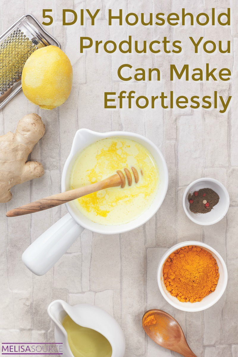 5 DIY Household Products You Can Make Effortlessly