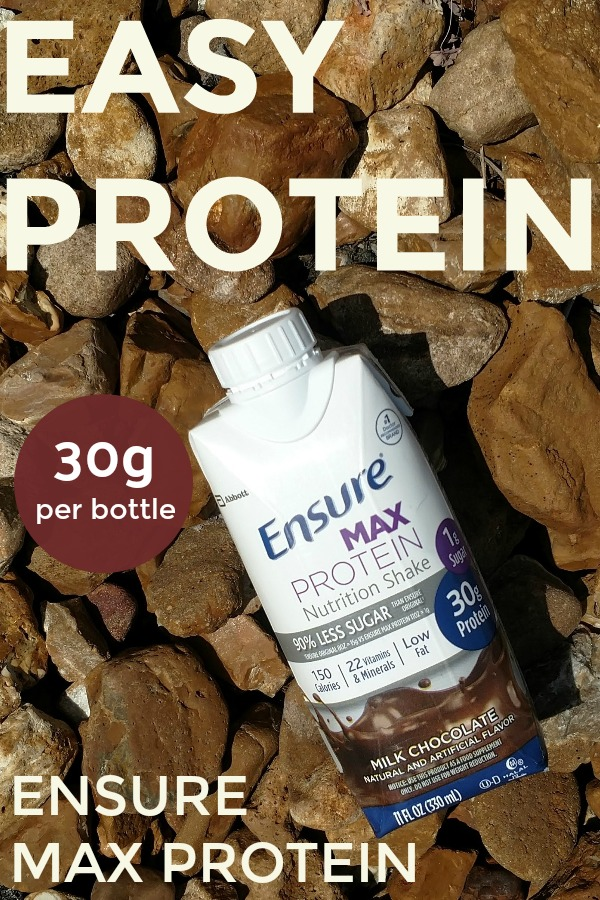 How I Use Ensure Max Protein to Make Healthy Living Over 40 Easy