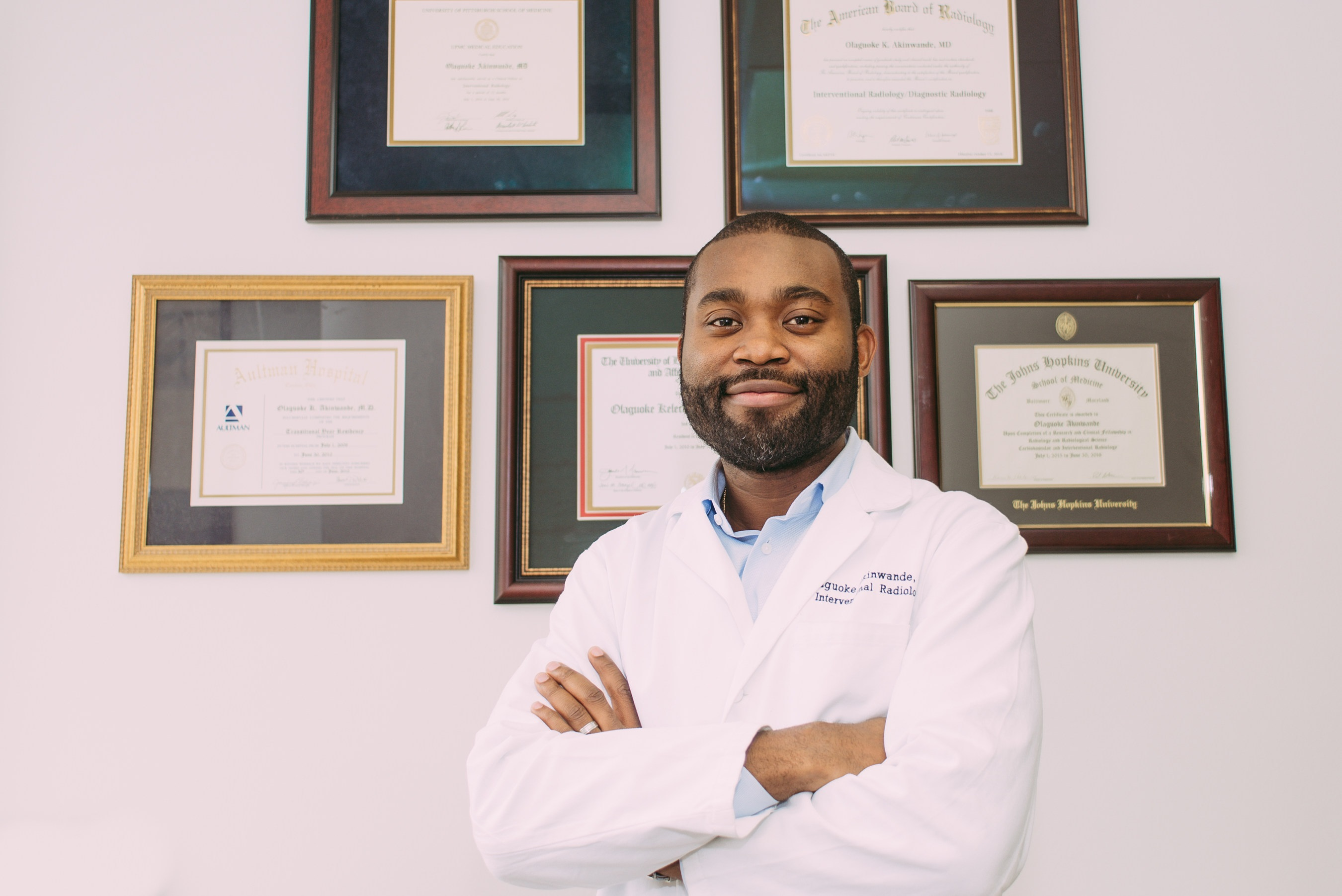 Dr. Goke Akinwande: Endovascular Procedure Specialist and founder and medical director of the Midwest Institute for Non-Surgical Therapy (MINT)