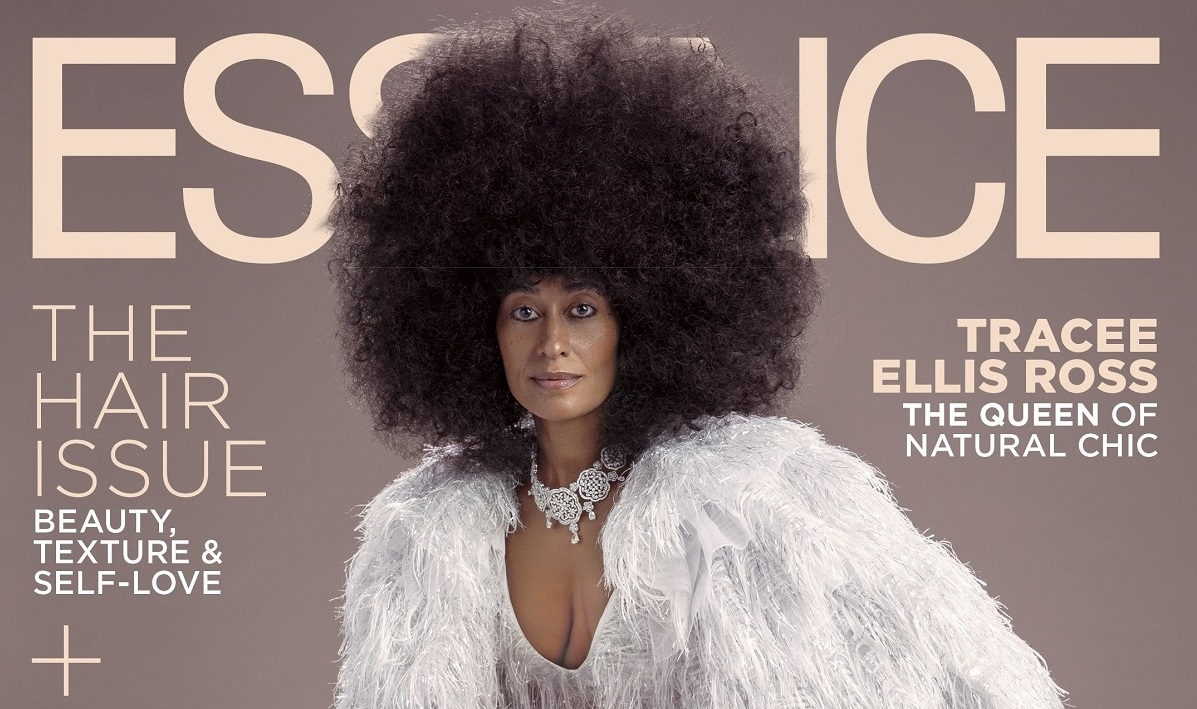 Tracee Ellis Ross Radiates as She Talks Having a Healthy Mindset in Essence October Issue