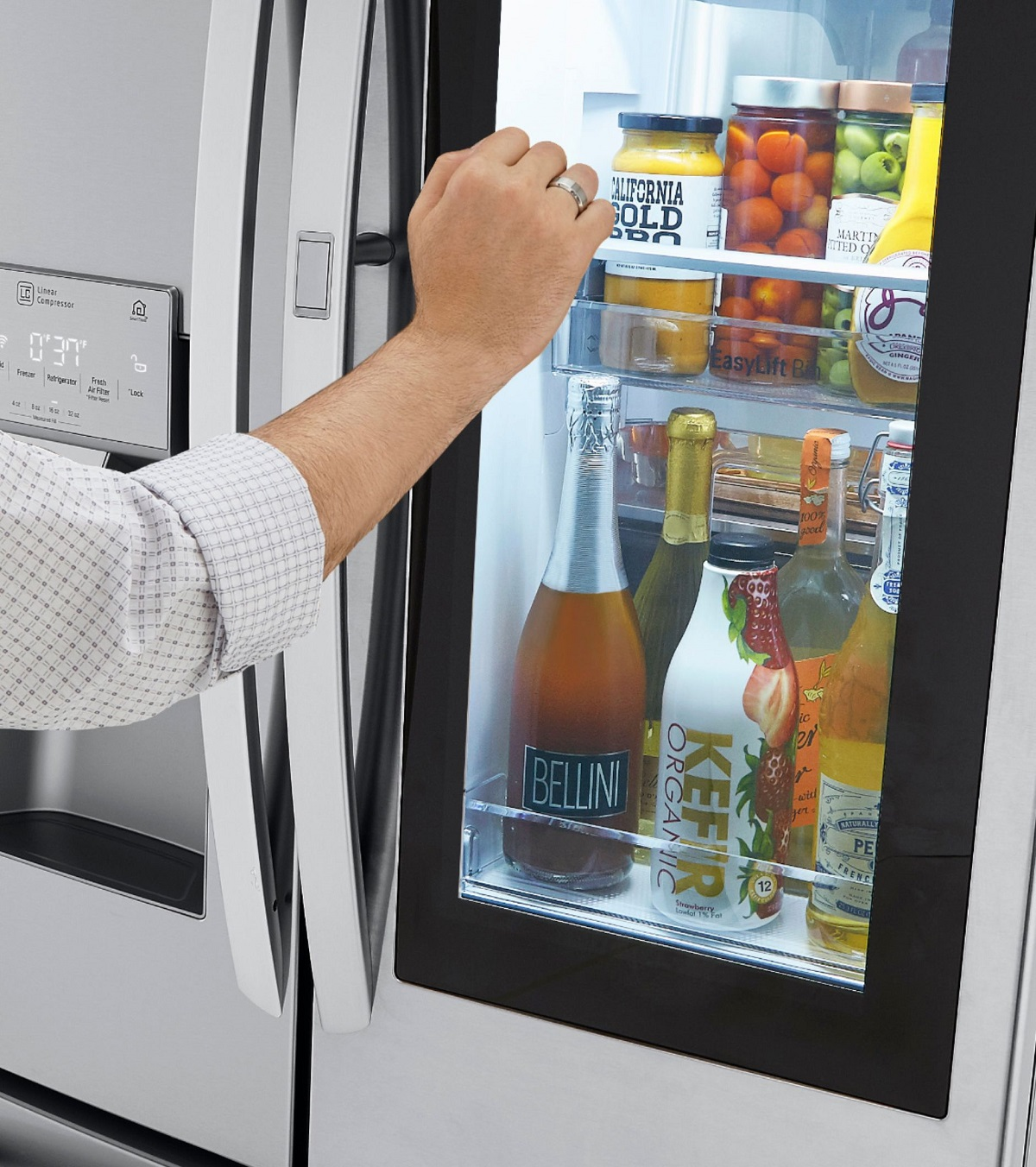 LG InstaView™ Door-in-Door® Refrigerator with Craft Ice™ a