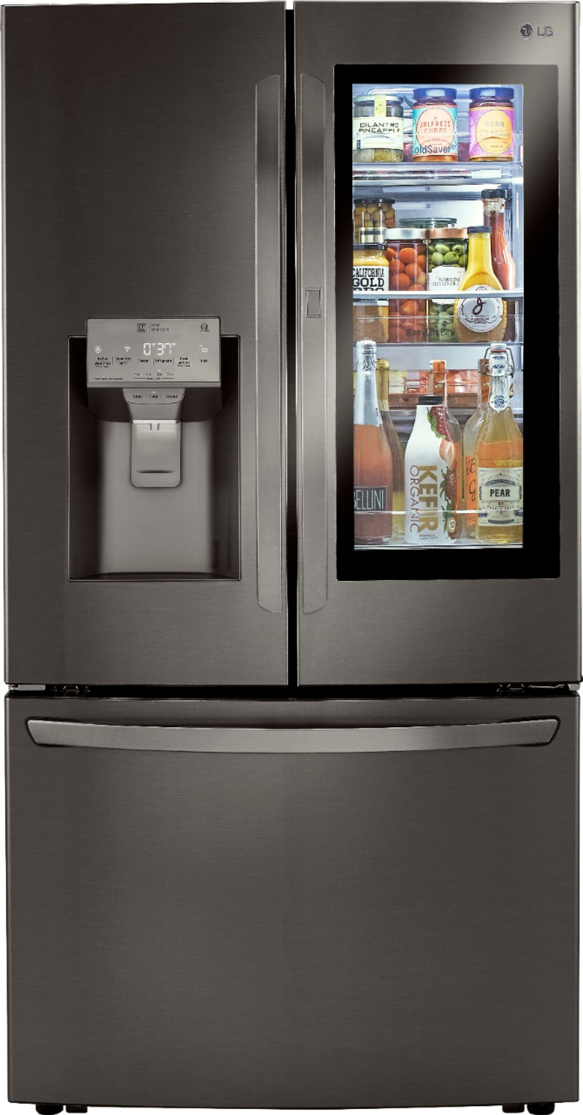 LG InstaView™ Door-in-Door® Refrigerator with Craft Ice™