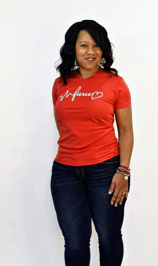 makeba giles faith health and home american heart association influencer go red for women st louis american heart month blogger