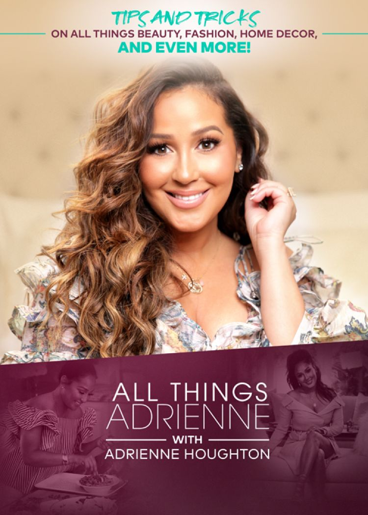 """ALL THINGS ADRIENNE WITH ADRIENNE HOUGHTON Things get hilariously competitive on this week's episode of ALL THINGS ADRIENNE WITH ADRIENNE HOUGHTON as she quizzes her Mom and Husband in a game of """"Who Knows Me Best"""" on an all-new episode this Saturday, February 29 at 1 P.M. ET/12C; encore at 11 P.M. ET/10C. For more information about CLEO TV visit www.mycleo.tv and check out CLEO TV YouTube Channel. Viewers can also join the conversation by connecting via social media on Twitter, Instagram and Facebook (@mycleotv) using the hashtag #CLEOTV."""