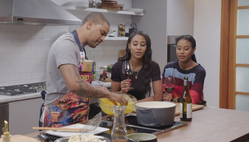 Cleo TV Just Eats With Chef JJ All Things Adrienne faith health and home lifestyle blog