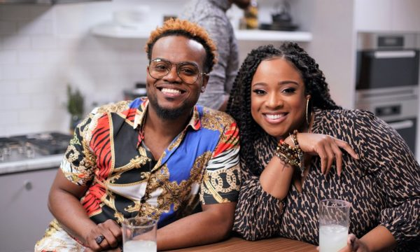 Travis Greene And Kierra Sheard Stop By for a Seafood Feast On Cleo TV's Just Eats With Chef JJ faith health and home lifestyle blog