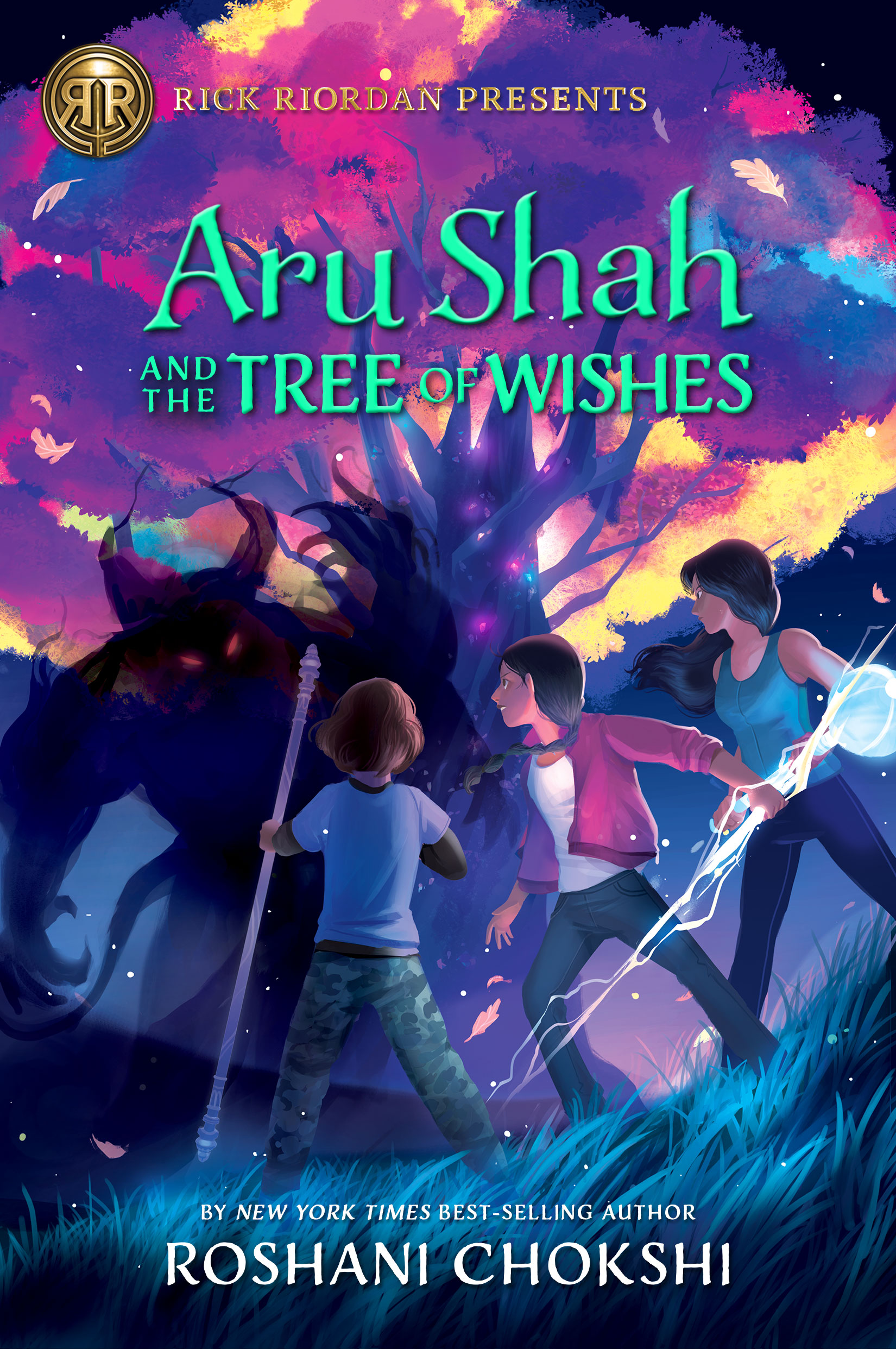 Roshani Chokshi New Book Aru Shah and the Tree of Wishes