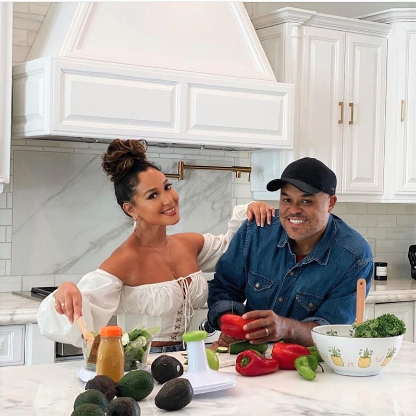 ISRAEL HOUGHTON JOINS WIFE ADRIENNE FOR A COOKING CHALLENGE ON THE NEXT EPISODE OF ALL THINGS ADRIENNE