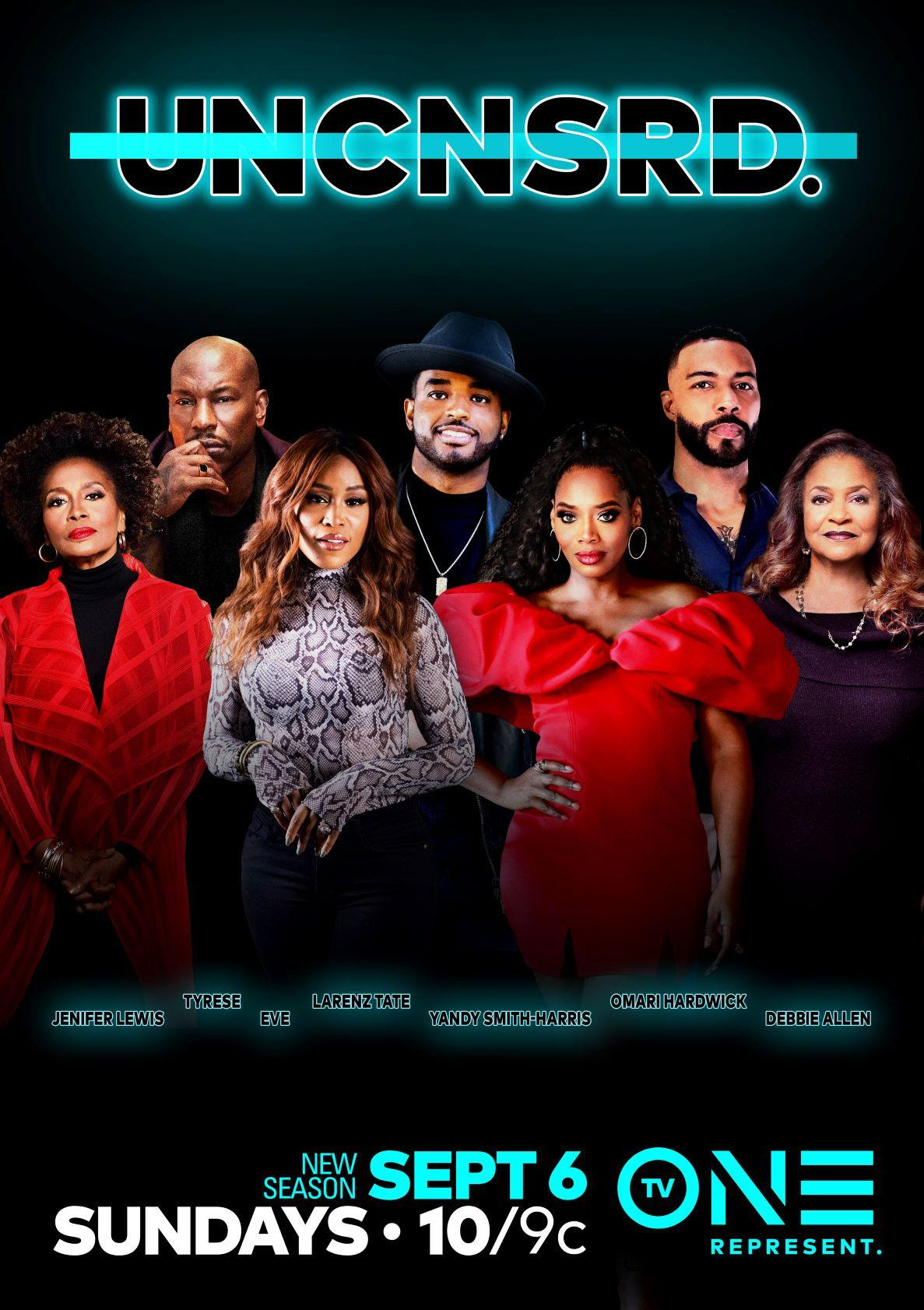 Omari Hardwick, Tyrese Gibson, Jenifer Lewis, and rapper Eve among this season's stars on TV One's Hit Series, 'Uncensored' faith health and home lifestyle blog 2