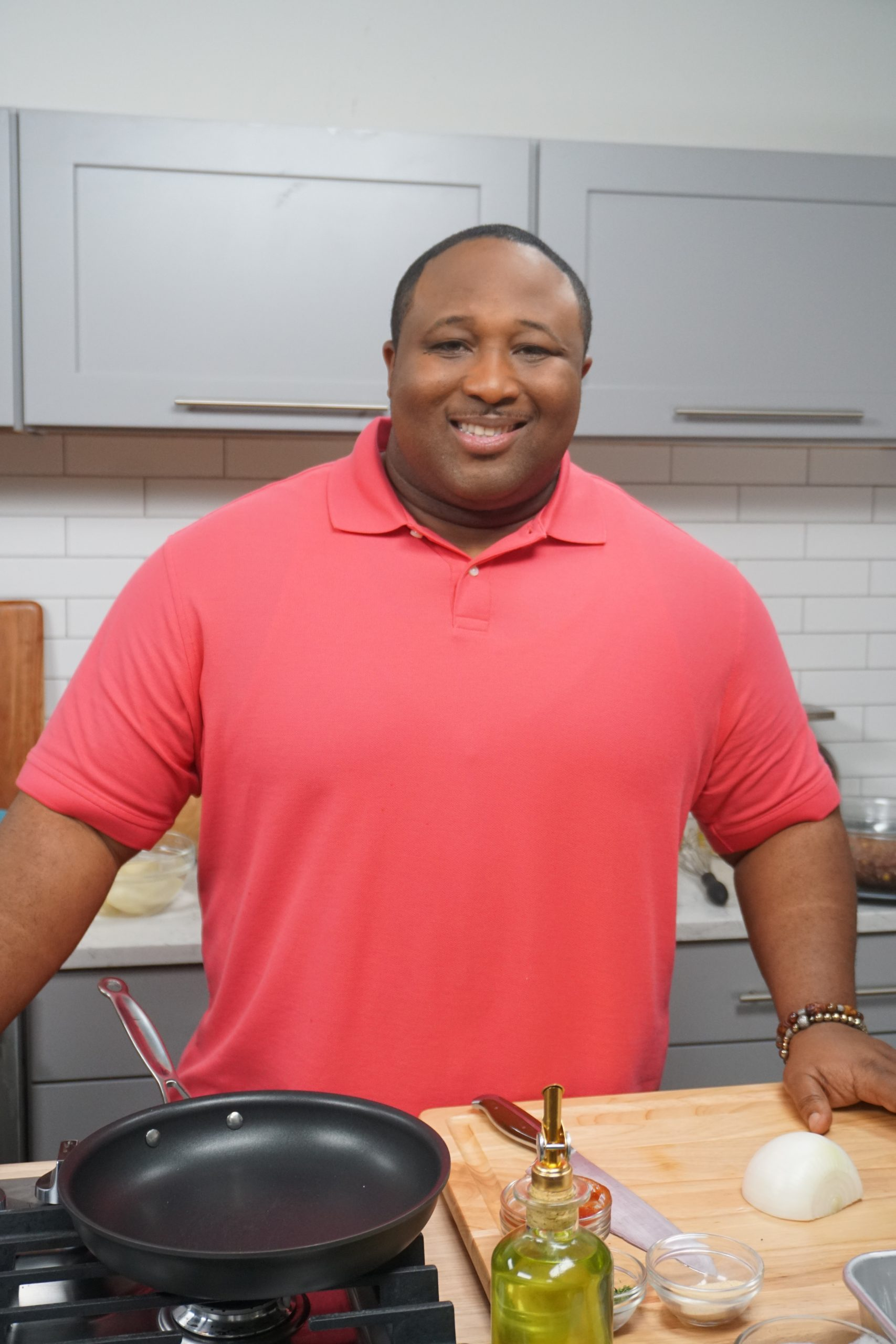 Chef Jernard Wells (Courtesy: CLEO TV)