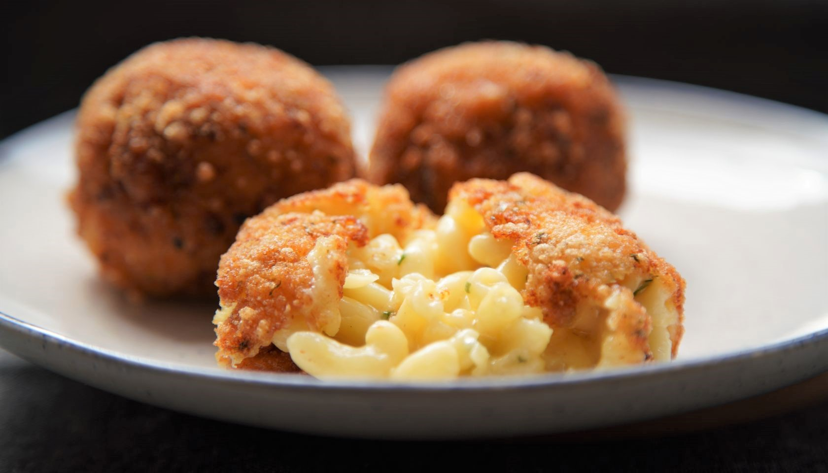 Chef JJ's Deep Fried Mac and Cheese Balls courtesy Cleo TV
