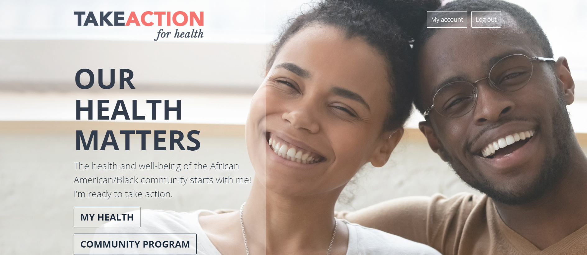 Take Action for Health: New Online Resource Exclusively for the African American Community
